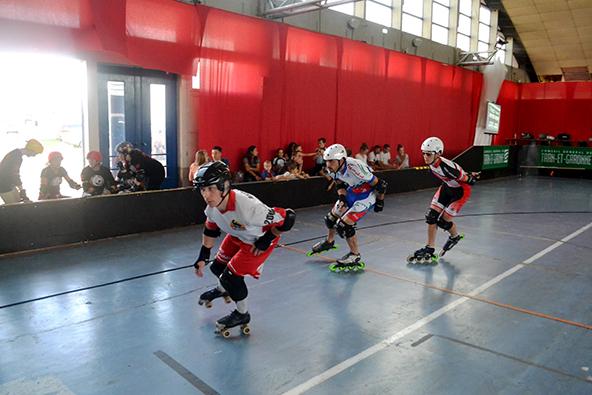 On le dit que celui qui a la meilleur posture de skating, c'est le mec en quad, ou on le dit pas ? © Pascal Briand